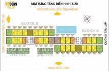 Chuyển nhượng Căn hộ Bcons Suối Tiên 1pn/850tr tháng 5/2020 nhận nhà PKD: 0898.312.612