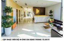 Chính chủ kẹt tiền bán căn góc 2pn, 2wc 74.10m2 dự án M-One Gia Định giá chỉ 3.5 tỷ