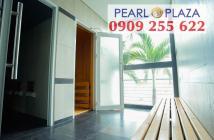 Bán căn hộ 3PN Pearl Plaza_ đủ nội thất, 122m2,  chỉ xách vali vào ở - Hotline PKD 0909 255 622