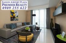 Bán căn hộ 3PN SAIGON AIRPORT PLAZA, 156m2, nội thất mới, view nhìn trung tâm - Hotline : 0909 255 622
