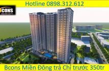 Bán căn hộ 1pn, 2pn Bcons Miền Đông đối diện BX.Miền Đông mới  LH: 0898 312 612