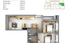 Cần bán gấp căn hộ Tân Hương Tower giá tốt nhất chung cư, giá chỉ 2 tỷ 550 triệu cho căn diện tích 116,7m2