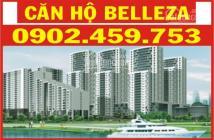 Cho thuê căn hộ Belleza, DT 127m2, 3PN, 2WC giá thuê: 10tr/tháng, , LH: 0902459753 Ms Chinh