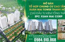 Xuân Mai Tower Thanh Hoá - Tạo lập cuộc sống ưu việt. Mua ngay hôm nay nhận ngay ưu đãi!!!