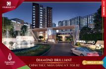 Bán CH B1.7.12, khu Diamond Brilliant Celadon City, view hồ cảnh quan,  có nội thất, TT chỉ 5% - LH: 0902.611.882