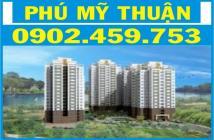 Cho thuê căn hộ Phú Mỹ Thuận, đường Huỳnh Tấn Phát, 95m2 3PN 2WC 7 tr/th, LH: 0902459753 MS Chinh