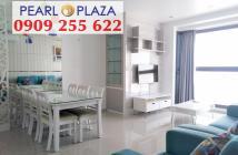 Pearl Plaza Q.Bình - Sở hữu ngay căn hộ 1PN chỉ 3,7 tỷ diện tích 56m2, nội thất dính tường, view Landmark 81. Hotline 0909 255 622...