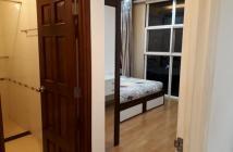 Cho thuê căn hộ Khánh Hội 3 Q4.75m,2pn,đầy đủ nội thất,tầng thấp,Giá 14tr/th Lh 0944317678
