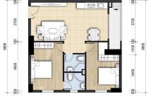 Bán căn hộ 74,3m2 2 phòng ngủ tại chung cư Tecco Town quận Bình Tân