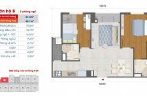 Chính chủ cần bán căn hộ West Intela, 2PN - 2WC, 68m2, giá 1,650 tỷ