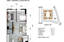 Chính chủ bán chung cư Dreamhome luxury diện tích 64m2 căn góc view hồ bơi. Giá bán 1ty75