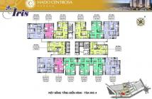 Bán căn 2PN Hà Đô Tháp Iris 4 view Đông Nam 6 tỷ hàng hot - hotline 0941198008