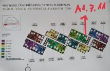 Tôi chính chủ cần bán gấp căn A1-7-11 Khu Diamond – View đại lộ 92,5m2 .Lh : 0938 696 545