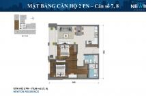 Bán NGAY căn số 7 chung cư Newton - 2 phòng ngủ chỉ 4.5 tỷ (bao hết phí), bàn giao HTCB