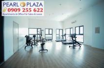 Chính chủ xuất ngoại cần bán gấp căn hộ Pearl Plaza, 1PN, 2PN, giá rẻ gần Vinhomes