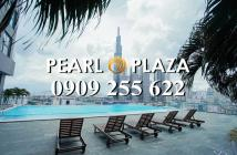 Cần bán gấp căn hộ Pearl Plaza, Q Bình Thạnh, 1PN, 2PN, căn góc gần Vinhomes LH 0909255622