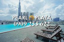 Pearl Plaza_Bán gấp căn hộ 2PN_101m2, đủ nội thất, sổ hồng 2019. Hotline PKD 0909255622