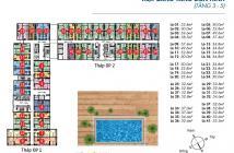 Cho thuê Orchard Park View 1PN, Nội thất sang trọng. 12tr Giá thật
