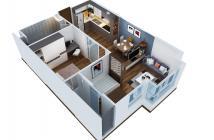 Căn hộ Flora Anh Đào, ở liền, 2 phòng ngủ, có sổ hồng - 0917 999 515