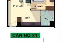 Bán căn hộ Phú Thạnh, Tân Phú 45m2, 1PN GIá chỉ 1,25 tỷ cực rẻ  LH: 0764541492 A Hải