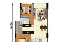 Bán chung cư bộ công an quận 2 tầng 9 blockB DT 69m2 2PN 2WC