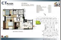 Bán căn hộ Nguyên Hồng, trung tâm 4 quận chữ,2PN,72m2,2ty5