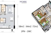 Cần bán nhanh căn hộ ở liền full nội thất ngay Cầu Tham Lương 8X Thái An - 2PN giá 1,5 tỷ tầng 10