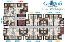Chính chủ cần bán 2PN Carillon 5 NT cơ bản, nhận nhà ở ngay, NH hỗ trợ vay 50%