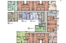 Chính chủ bán căn hộ Ascent Plaza 2 phòng ngủ, 2WC 72.55m2, view hồ bơi, chênh lệch thấp
