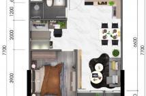 Bán căn hộ Thủ Thiêm Dragon – Khu Villa Thủ Thiêm, 48m2, 1Pn + 1. Giá 2, 09 tỷ. Lh O9I886O3O4