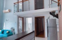 Bán căn hộ chung cư LA 1, dt: 45m2+ 25m2 lửng,view LM81, 2pn 2wc. Tặng Nt. Lh 0918860304