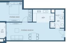 Hot nhượng lại căn 1PN, Ascent Plaza, DT 64.45m2, chênh lệch thấp chỉ 50 triệu LH: 0938919719