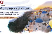 Chương trình định cư Hy Lạp nhận quốc tịch EU