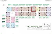 Chính chủ bán căn hộ PiCity P3A-11-15, hướng Đông, view siêu đẹp, hồ bơi, công viên, Landmark 81