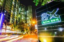 Bán căn hộ 8x Đầm Sen, DT 50m2, 2PN, Full NT, giá chỉ 1,5 tỷ.