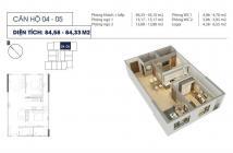 Cần bán gấp căn hộ 2pn 2vs 85m2