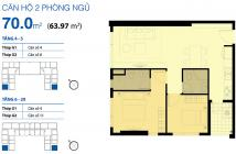 Cần bán CHCC cao cấp Galaxy_9 giá HOT - căn góc 2PN  tặng ĐĐNT - sổ hồng