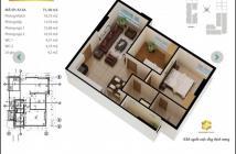 Bán căn hộ chung cư tại Dự án Saigonres Plaza, Bình Thạnh, Sài Gòn diện tích 71,38m2 giá 3,2 Tỷ