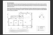 Bán Penthouses tại Palm Hights, dt 134 m2, bán nhà thô, 3 phòng +1, căn góc view sông. 0918860304 ☎