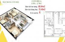 Bán căn hộ 3PN thanh toán chỉ 900tr nhận nhà ở ngay bank cho vay 70% tặng 18 phí QL va ân hạn gốc lãi 12 tháng