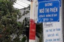 Chính chủ cần bán đất 2 mặt tiền đường Ngô Thị Phiện xã Tân An Hội, huyện Củ Chi.