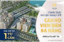 Shophouse kinh doanh khối đế , Căn hộ The Ori Garden Đà Nẵng giá chỉ từ 950 triệu vnđ