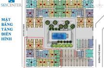Căn hộ cao cấp SKy Center mở bán căn hộ văn phòng, shop kinh doanh, TT linh hoạt, LH: 0903.647.344