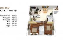 Căn hộ Quận 7 ngay Lotte Mart, cách Hoàng Diệu 1km. Giá 1,2 tỷ/ căn 2PN, LH 0938 199 552