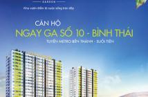 Căn hộ mặt tiền Xa Lộ Hà Nội sát ga Metro số 10 Bình Thái, 1 tỷ/căn 2PN. Tel 0907.042.757