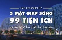 Căn hộ River City-nội thất nhập khẩu-3 mặt view sông-TT 1%/tháng-99 tiện ích 1.39 tỷ/2PN